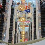 Vertigo at the escalators