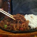Sukiyaki (Beef brisket. soy sauce, garlic, & more)