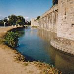 Medieval walled town of Guerande