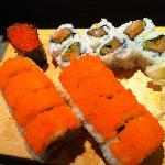 zipang roll and spicy tuna roll