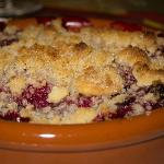 Red Fruit Crumble