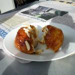 Provisions 'sticky bun'
