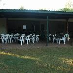 Camp Kitchen eating area