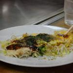 Tasty and filling Okonomiyake
