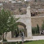 Сады Бабур-шаха. Молитвенное место