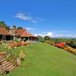 The Aberdare Country Club, only a two-hour drive heading northwest from Nairobi, is nestled on a