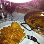 Paella valenciana (chicken and rabbit)