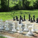 Outdoor chess -- love it!