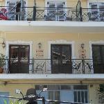 i balconi dell'hotel dove facevamo colazione