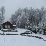Mucha Nieve en Mirador Los Volcanes