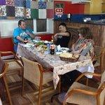 dinner in grammy hostel
