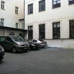Car park when empty