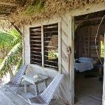 Cabana - rustic but very comfortable