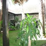 Inner courtyard at Parador La Gomera