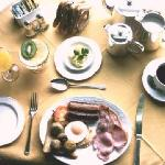 Start the day with a Full Lancashire Breakfast