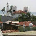 View from the rooftop - direction lighthouse
