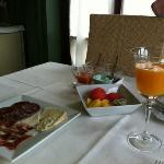 Maravilloso desayuno