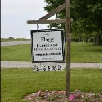 Flagg Farmstead sign