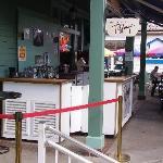 Tiffany's streetside bar area.