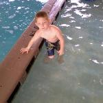 this is the hotel pool  grandson loves this pool
