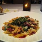 Penne with Chicken Main Course