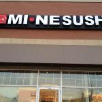 front entry to Mine sushi in aurora