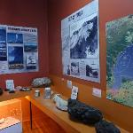 Volcano and Geology display around