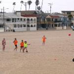 Fun on Seal Beach just blocks from The Pacific Inn  Credit Barbara L. Steinberg