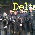 Dave's 30th Paintball Bash
