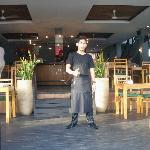 Staff at restaurant