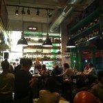 Interior of Montenegro Taverna & Bar