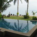 The Baan Bophut infinity pool