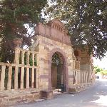 Central gate of the mansion