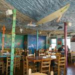 Interior shot of the restaurant