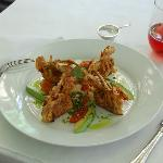 Soft Shell Crabs w/Jicama Salsa and Avocado