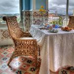 A Breakfast in the veranda