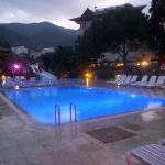 Alvaro apartments swimming area