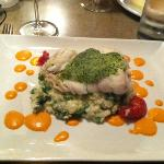 White Fish Entree (Special that evening)