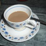 No breakfast is complete without Chai tea