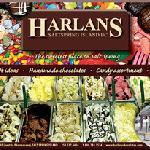Harlans Chocolates and Gelato on Salt Spring Island
