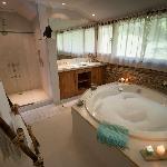 baño suite agua