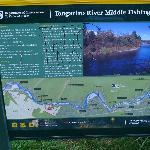 Tongariro River sign