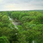 Looking left from the Balcony @ the Guadalupe River