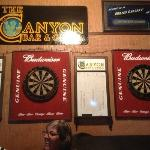 Darts games, but not tonight