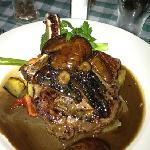lovely rib eye steak