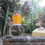 A small shrine at the grounds.
