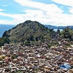 Copacabana view from Horca del Inca