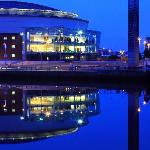 Belfast's Waterfront Hall close to the Titanic Quarter