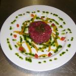 Tartare di filetto di manzo