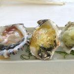 Oyster 3 ways